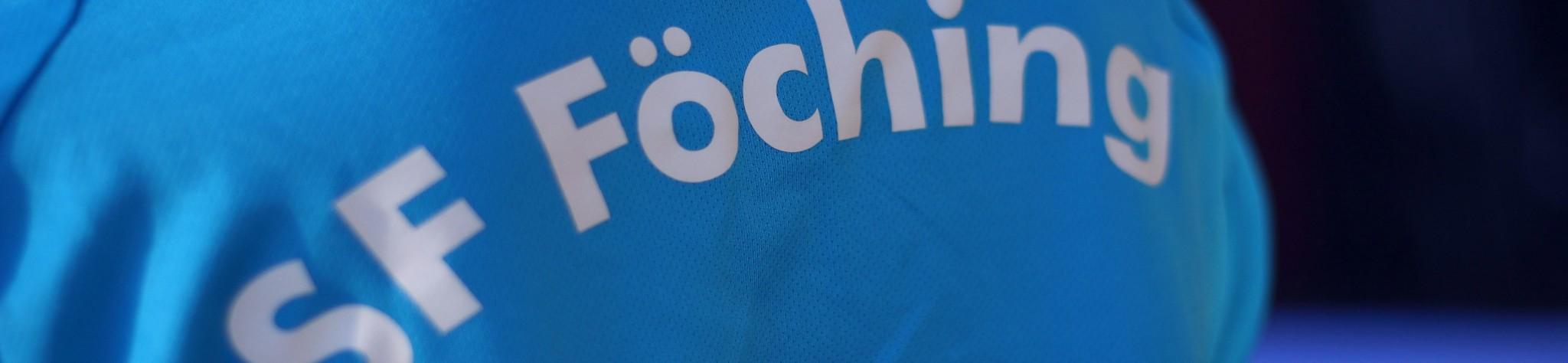 Sportfreunde Föching Handball Schriftzug Trikot